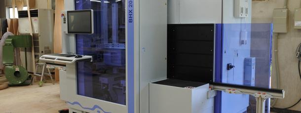 ドイツ WEEKE社製 縦型CNCマシニングセンター BHX200導入